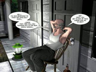 shemale, kreskówki, 3d comics