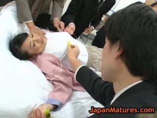 एज्ड natsumi kitahara में हॉट