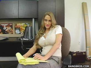 жорстке порно, ебать сюрприз її, офіс сексу