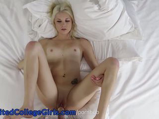 Hella Fun Amateur Cali Teen Creampie in Porn Debut