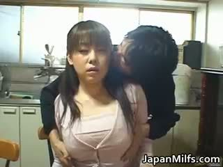 japansk, stora bröst, anal