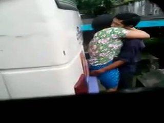 Myanmar تجسس حدبة زوجان