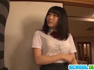 Satomi appreciates grand longue pork dagger