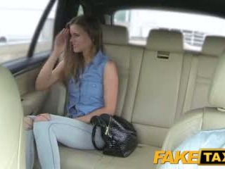 Faketaxi Lady Wants To See Drivers Big Cock