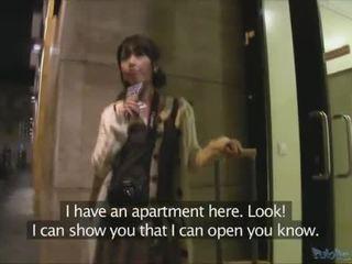 Japonesa turista persuaded para ter sexo