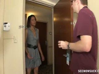 Avsugning i den hotell rum