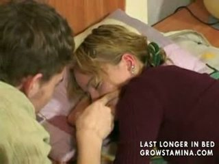 Slapen gf gets banged