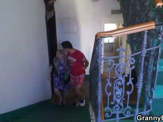 vieux, grand-mère, mamie