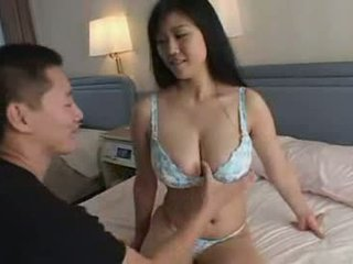 Japanese Boy Playing With His Aunt Big Natural Titts Video