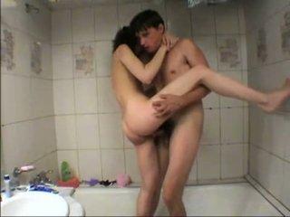 jāšanās, trieciens, vanna