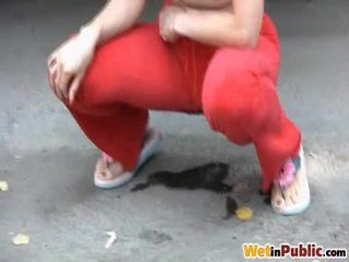 Pissing Throughout Sporty Pants