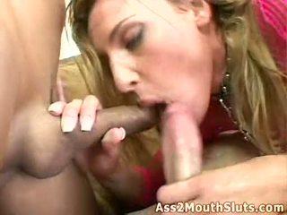 Netted seksuālā wench lauren phoenix receives double plugged par viņai ciešas warm holes