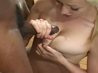 Ass Fucked Plumper Adrianna Nicole Jerks Dark Cock All Over Melons