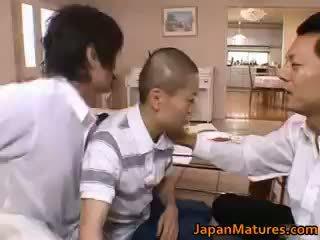Miki sato असली एशियन मां part1