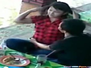 Teenageralter erwischt auf spion kamera