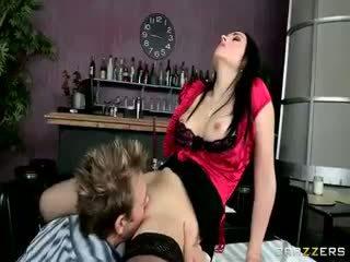 brunette, babe, ass
