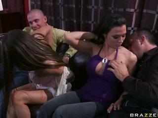 Rachel roxx e rachel starr jogar com gaja lads