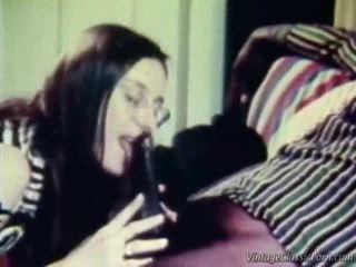 διαφυλετικός, retro porn, vintage sex