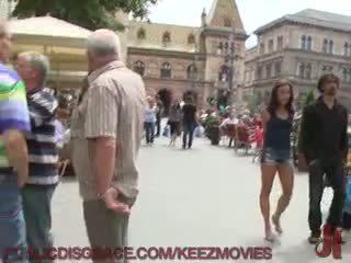 Europees vakantie vernedering
