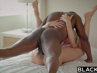 Blacked 浮気 熟女 brandi loves 最初の 大きい ブラック コック