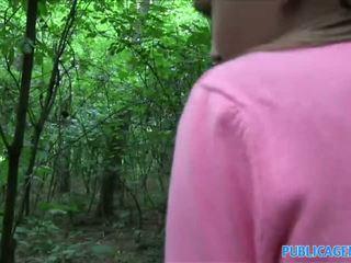 Publicagent innocent cerca giovanissima scopata in il woods