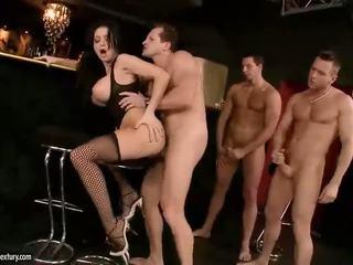 big tits onlaýn, pornstars, Iň beti stockings fun