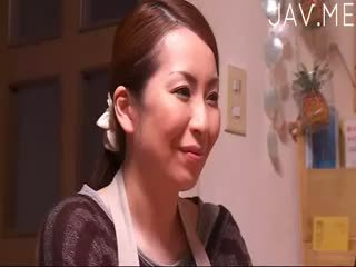 brunette, japanse, kindje