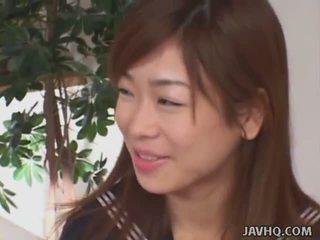 Jaapani schoolgirls imemine riist (uncensored)