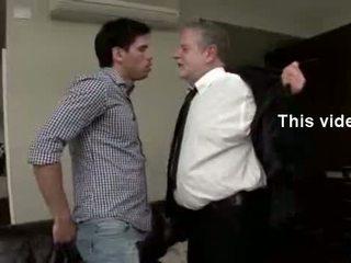 Hawt พ่อ teaches เขา บาง ใหม่ tricks