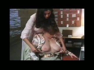 brunette, sucking, kissing