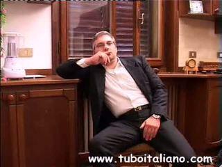 briunetė, amatoriale, italijos