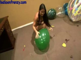 tits, balloons, fetish