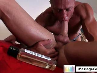 Massagecocks masseuse seduces