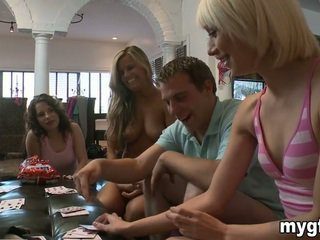 Stripping poker