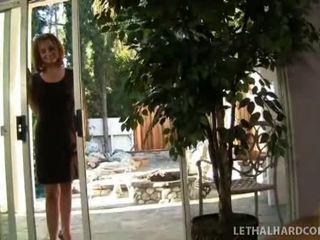 Jovem kaycee e dela mamãe partilhar o zonker