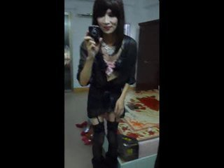 Crossdresser krasan show up