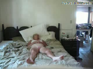 Giving my 53 years Blonde Wife an Orgasm Video