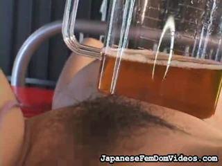 Selecție de uimitor clipuri de la japonez femdom videouri în bdsm porno niche