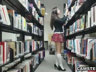 攝像頭, 脫衣舞, 女學生