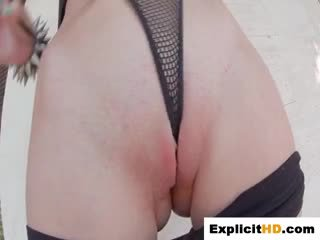 Pools fox misha oversteken does groot anaal met breed gapes