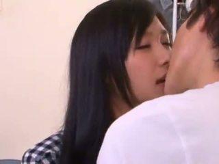 Häftigt nana ogura has gjort kärlek giant i den sovrum
