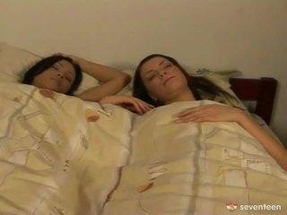 Lesbian Nymphs Waking Up