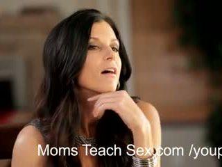 fresco mom caldo online, vedere terzetto, controllare mamma