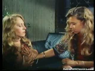 Classic Amber Hunt Lesbian Licking