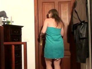 bruneta, webcam, kavkazský