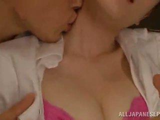 Arisa nakano appreciates sensuous rear thrashing efter having fondled
