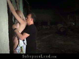 Two slaves uz brutālie sāpe un ekscentriskas verdzība orgasms spermas izšāviens <span class=duration>- 7 min</span>