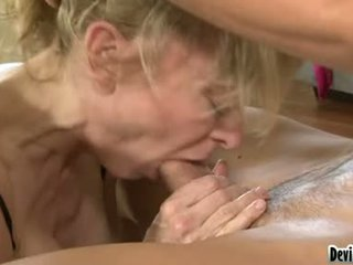 Horny Girls Getting Their Mouths Stuffed With Cock