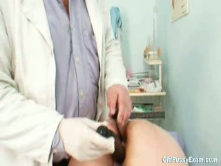 Giant Breasts Aged Lady Real Gyno Check Up