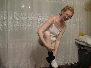 striptease, granny, mature amateur